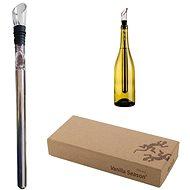 VS PILBARA chladič na víno v dárkové krabici stříbrná - Chladič nápojů