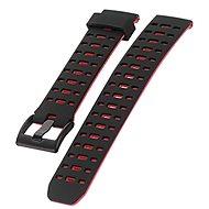 IMMAX pro hodinky SW8, černo-červený - Řemínek