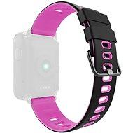 IMMAX pro hodinky SW9, černo-růžový - Řemínek