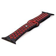 IMMAX pro hodinky SW10, černo-červený - Řemínek