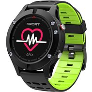 IMMAX SW8 černo-zelené - Chytré hodinky