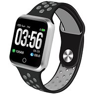IMMAX SW10 černo-stříbrné - Chytré hodinky