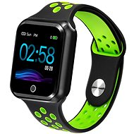 IMMAX SW10 černo-zelené - Chytré hodinky