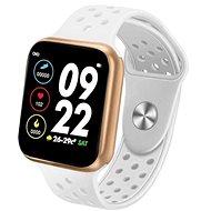 IMMAX SW13 PRO bílo-zlaté - Chytré hodinky