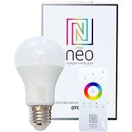 Immax Neo E27 8,5W teplá bílá, stmívatelná + ovladač - LED žárovka