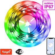 LED pásek Immax NEO LITE Smart pásek LED 5m, RGB, CCT, barevný, stmívatelný, wifi IP67, outdoor
