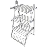 InnovaGoods Compak Foldable Electric Clothes Airer 300W Grey (30 Bars) - Laundry Dryer