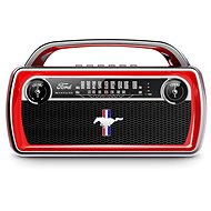 ION Mustang Stereo Red