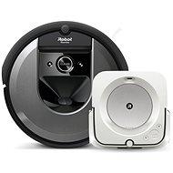 Set iRobot Roomba i7 a iRobot Braava m6