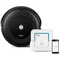 iRobot Roomba 696 + Braava jet 240 - Robotický vysavač