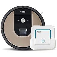 set iRobot Roomba 976 a iRobot Braava 240 - Robotický vysavač