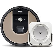 set iRobot Roomba 976 a iRobot Braava jet m6 - Robotický vysavač