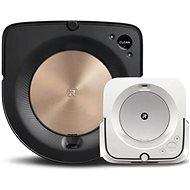 set iRobot Roomba s9 a iRobot Braava jet m6 - Robotický vysavač