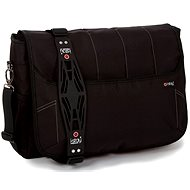 "i-Stay Black 15.6"" & Up to 12"" Laptop / Tablet Messenger Bag - Brašna na notebook"