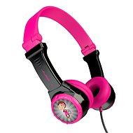 JLAB JBuddies Folding Kids Headphones Pink/Black - Sluchátka