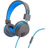 JLAB JBuddies Studio Over-Ear Folding Kids Headphones Grey/Blue - Sluchátka