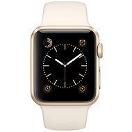 Apple Watch Sport 38mm Zlatý hliník se starobílým řemínkem - Chytré hodinky