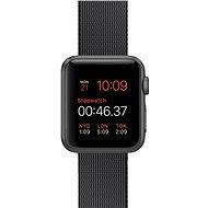 Apple Watch Sport 38mm Vesmírně šedý hliník s černým řemínkem z tkaného nylonu - Chytré hodinky
