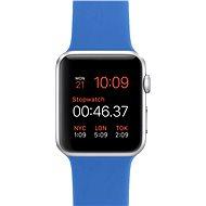 Apple Watch Sport 42mm Stříbrný hliník s královsky modrým řemínkem - Chytré hodinky