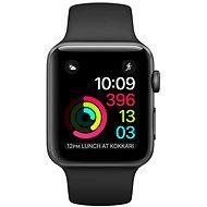 Apple Watch Series 1 38mm Vesmírně šedý hliník s černým sportovním řemínkem - Chytré hodinky