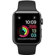 Apple Watch Series 2 38mm Vesmírně šedý hliník s černým sportovním řemínkem - Chytré hodinky