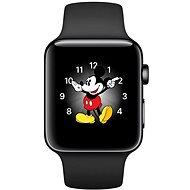 Apple Watch Series 2 38mm Vesmírně černá nerezová ocel s vesmírně černým sportovním řemínkem - Chytré hodinky