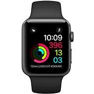 Apple Watch Series 2 42mm Vesmírně šedý hliník s černým sportovním řemínkem - Chytré hodinky