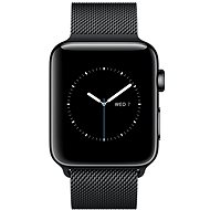 Apple Watch Series 2 42mm Vesmírně černá nerezová ocel s vesmírně černým milánským tahem - Chytré hodinky