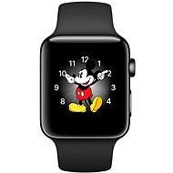 Apple Watch Series 2 42mm Vesmírně černá nerezová ocel s vesmírně černým sportovním řemínkem - Chytré hodinky