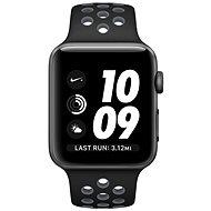 Apple Watch Series 2 Nike+ 38mm Vesmírně šedý hliník s černým / chladně šedým sportovním řemínkem Ni - Chytré hodinky