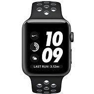 Apple Watch Series 2 Nike+ 42mm Vesmírně šedý hliník s černým / chladně šedým sportovním řemínkem Ni - Chytré hodinky