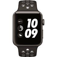 Apple Watch Series 2 Nike+ 42mm Vesmírně šedý hliník s antracitově černým sportovním řemínkem Nike - Chytré hodinky