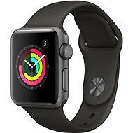 Apple Watch Series 3 38mm GPS Vesmírně šedý hliník s šedým sportovním řemínkem - Chytré hodinky