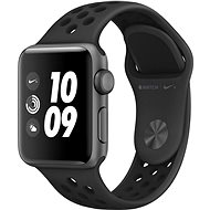 Apple Watch Series 3 Nike+ 38mm GPS Space Grey Aluminium with Nike Anthracite Sports Strap - Smartwatch