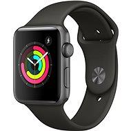 Apple Watch Series 3 42mm GPS Vesmírně šedý hliník s šedým sportovním řemínkem - Chytré hodinky