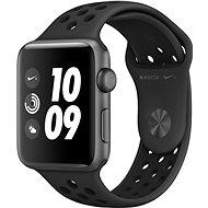 Apple Watch Series 3 Nike+ 42mm GPS Vesmírně šedý hliník s antracitovým sportovním řemínkem Nike - Chytré hodinky
