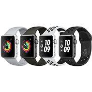 Apple Watch Series 3 Nike+ 38mm GPS Vesmírně šedý hliník s antracitovým sportovním řemínkem Nike - Chytré hodinky