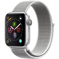 Apple Watch Series 4 40mm Silver Aluminium Case with Seashell Sport Loop - Smartwatch