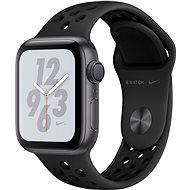 Apple Watch Series 4 Nike+ 40mm Vesmírně černý hliník s antracitovým/černým sportovním řemínkem Nike - Chytré hodinky