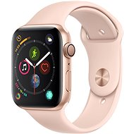Apple Watch Series 4 44mm Gold Aluminium Case with Pink Sand Sport Loop - Smartwatch