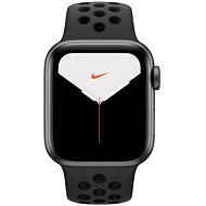Apple Watch Nike Series 5 40mm Space Grey Aluminium with Nike Anthracite/Black Sports Strap - Smartwatch