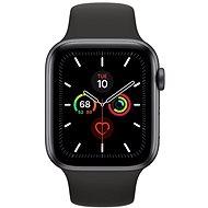 Apple Watch Series 5 44mm Vesmírně šedý hliník s černým sportovním řemínkem