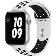 Apple Watch Nike Series 6 40mm Stříbrný hliník s platinovým/černým sportovním řemínkem Nike - Chytré hodinky