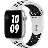 Apple Watch Nike Series 6 44mm Stříbrný hliník s platinovým/černým sportovním řemínkem Nike - Chytré hodinky