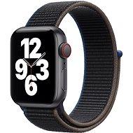 Apple Watch SE 40mm Cellular Vesmírně černý hliník s antracitovým sportovním řemínkem