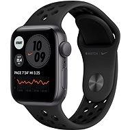 Apple Watch Nike SE 40mm Vesmírně šedý hliník s antracitovým/černým sportovním řemínkem Nike - Chytré hodinky