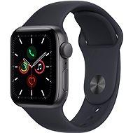 Apple Watch SE 40mm Vesmírně šedý hliník s temně inkoustovým sportovním řemínkem