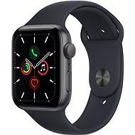 Apple Watch SE 44mm Vesmírně šedý hliník s temně inkoustovým sportovním řemínkem