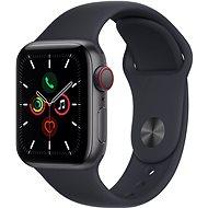 Apple Watch SE 44mm Cellular Vesmírně šedý hliník s temně inkoustovým sportovním řemínkem