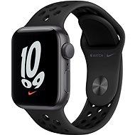 Apple Watch Nike SE 40mm Vesmírně šedý hliník s antracitovým/černým sportovním řemínkem Nike
